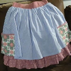 Matilda Jane Happy Floating Apron Skirt Small